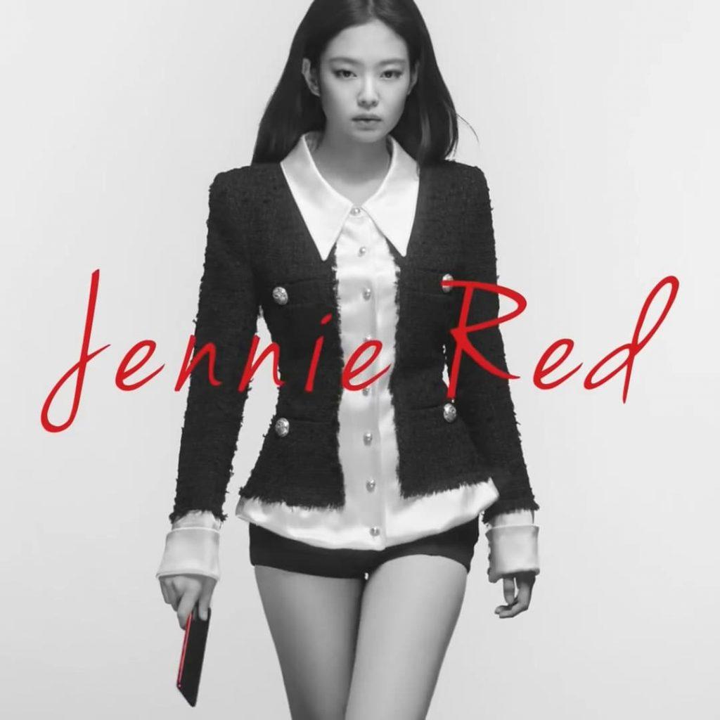 삼성 스마트폰 KTGalaxy S20+ Jennie RED  제니레드 광고 한 장면02, Image from Jennie RED AD capture