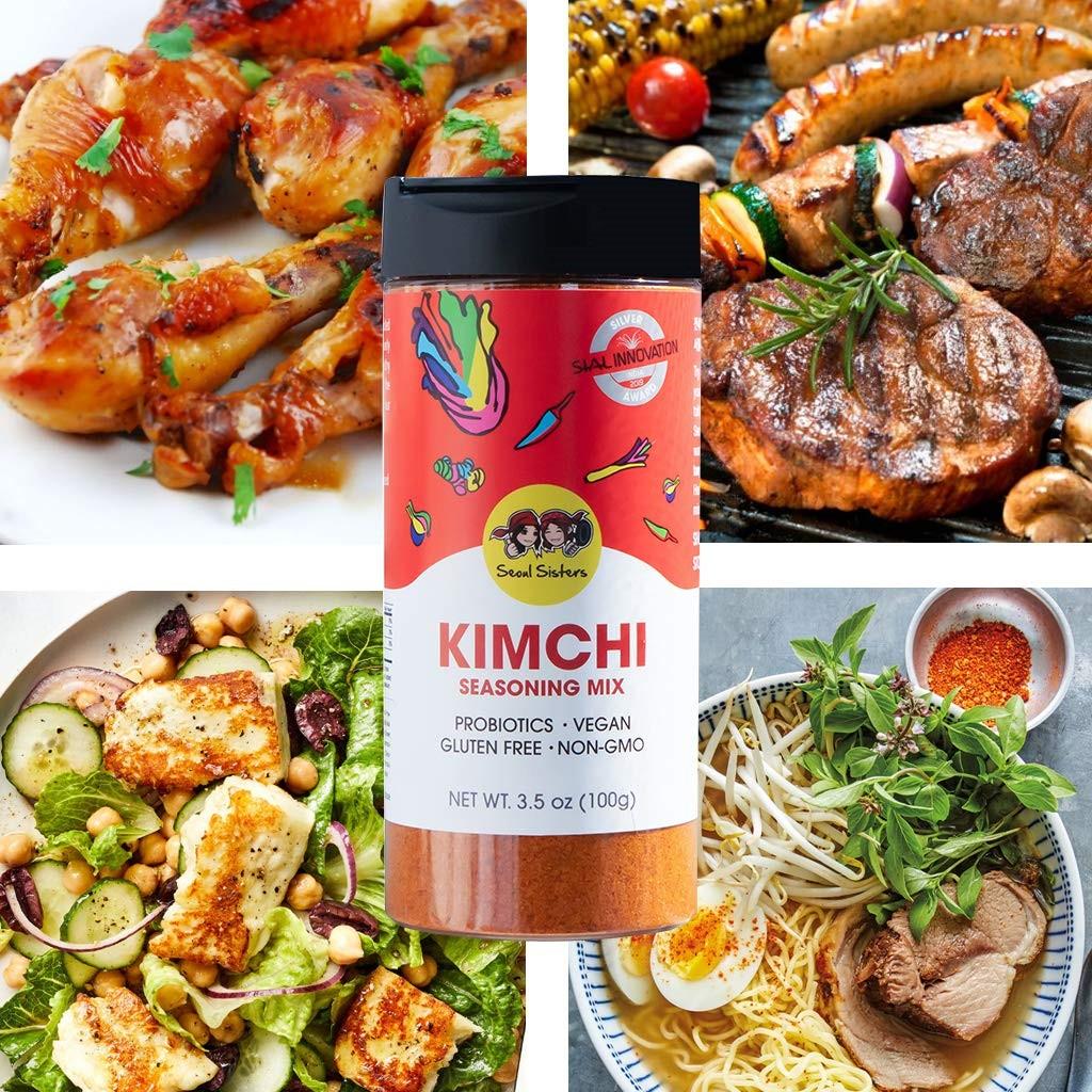 푸드컬처랩 서울시스터즈 김치가루 사용 제안 사례, Kimchi Seasoning Mix, Image from Food Culture Lab