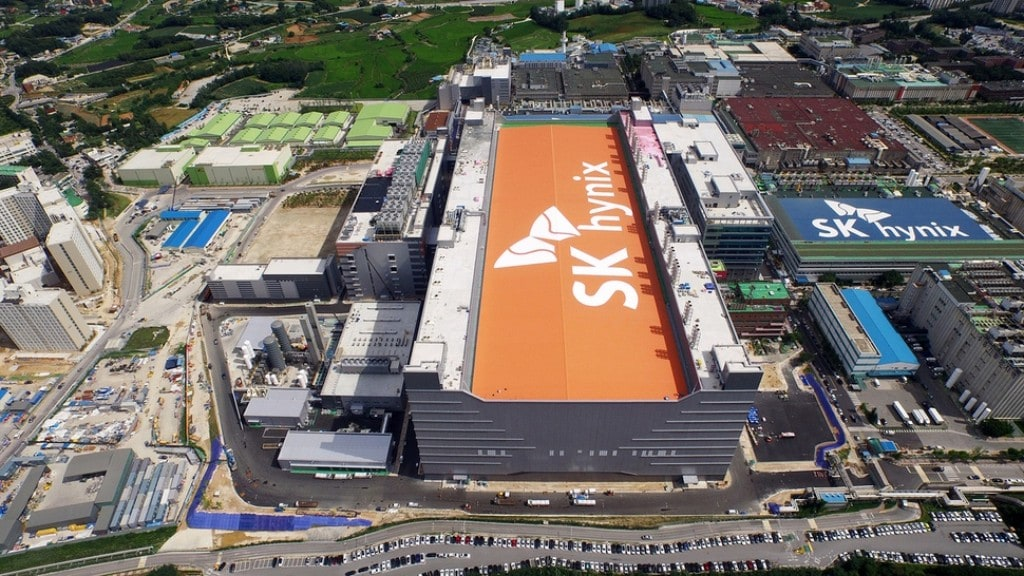SK 하이닉스 공장 전경