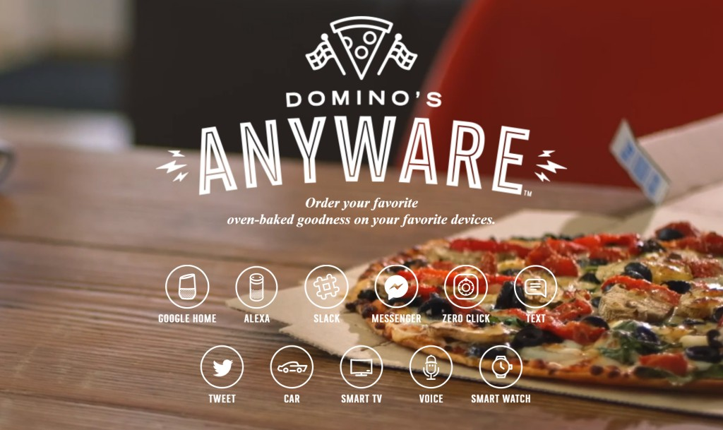 도미노 애니웨어(AnyWare) 주문 시스템, Image from Domino's Pizza
