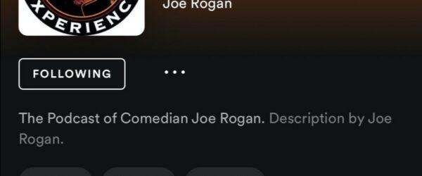 스포티파이(Spotify)와 독점 계약한 조 로건 익스피리언스(The Joe Rogan Experience)