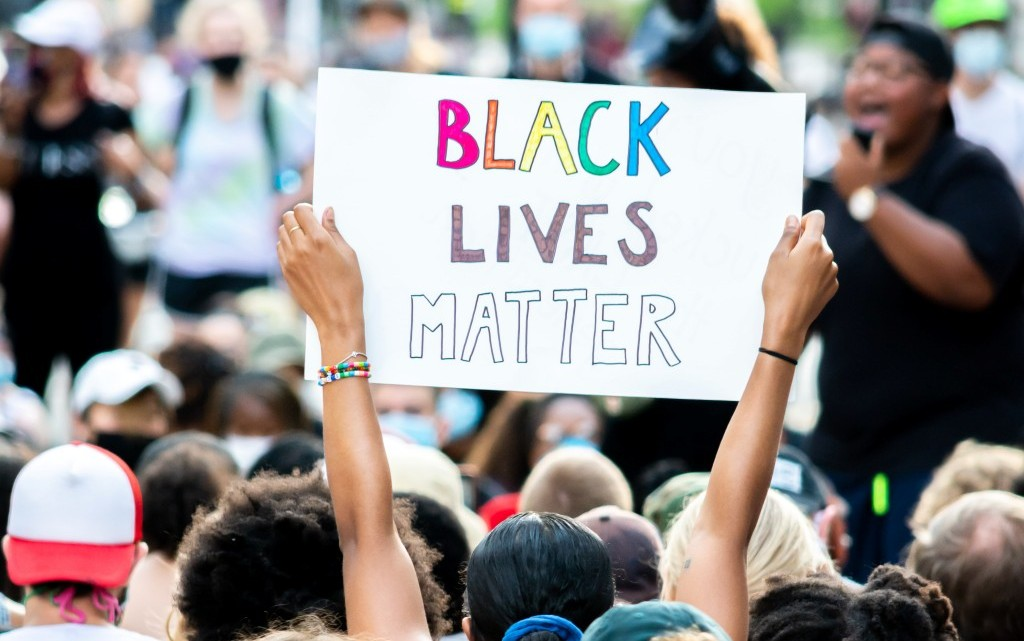 Black Lives Matter Movement near White House, Pennsylvania Avenue Northwest, Washington, DC, USA, photo by Gayatri Malhotra