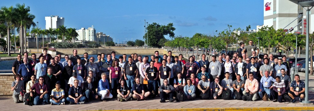 The LSFMM 2019 group photo, Photo by LWN