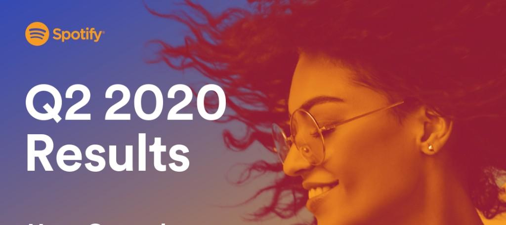 20년 2분기 스포티파이 실적,  코로나로 광고 감소는 매출과 이익을 제한하다.