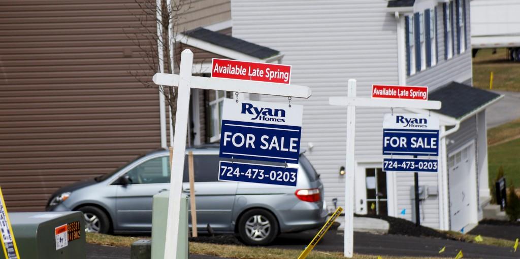 미국 주택 판매 추이, 주택 판매 중인 주택들, Image from AP