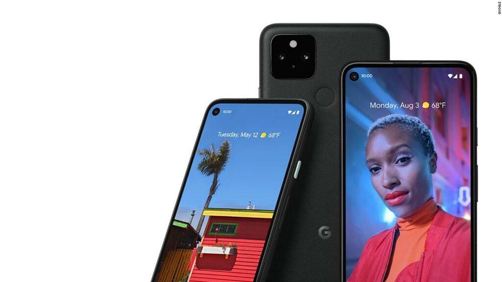 구글 픽셀폰 5 이미지 Pixel 5 launch