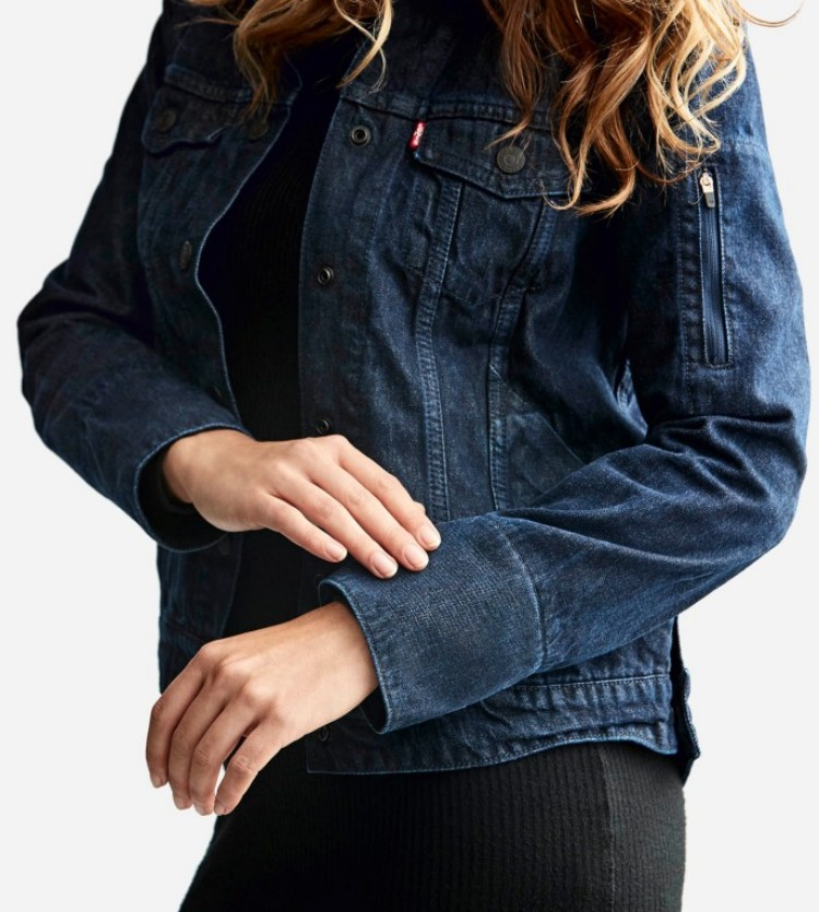 리바이스 트러커 재킷, levis commuter trucker jacket wearable tech clothing