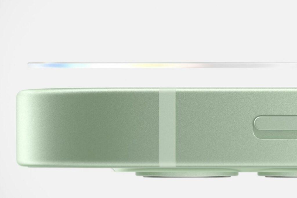 아이폰12 디자인, 직각 테두리 디자인 적용, Image from Apple