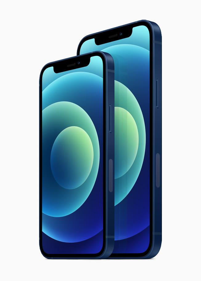 아이폰12 및 아이폰12 미니 비교 이미지, Image from Apple