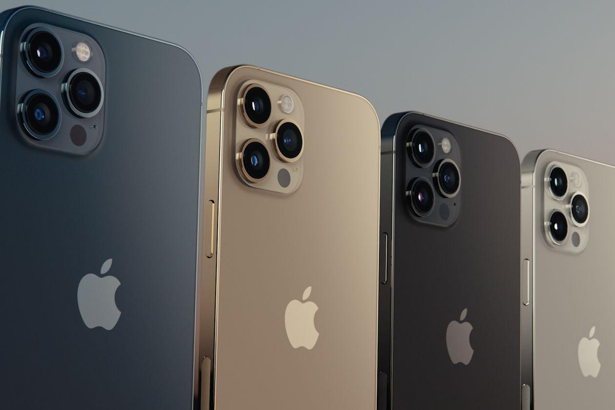 애플 아이폰12 프로 및 아이폰 프로맥스 카메라 모습, Image from Apple