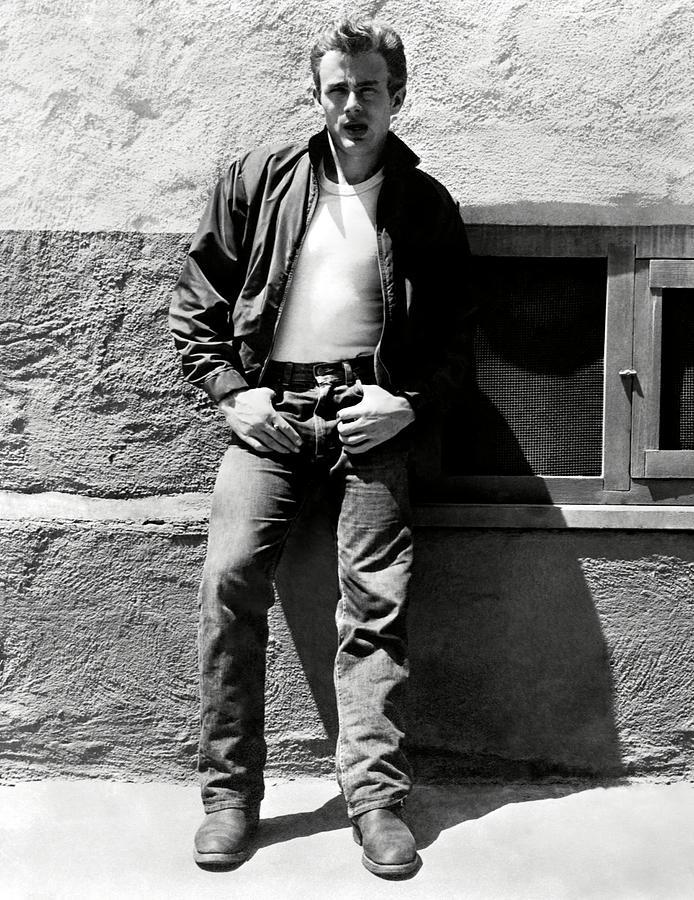 영화 이유업는 반항에 출연한 제임스 딘, JAMES DEAN in REBEL WITHOUT A CAUSE -1955, Photo by Album