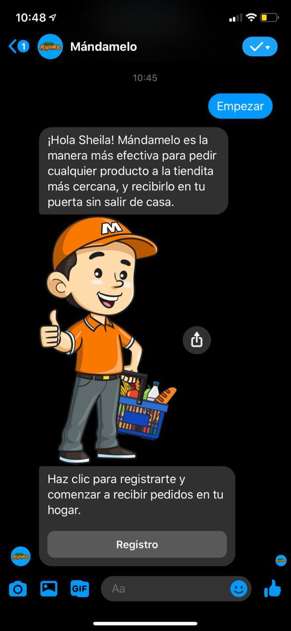 맥시코 소상공인을 위한 Mándamelo WhatsApp Image, Image from Fobes