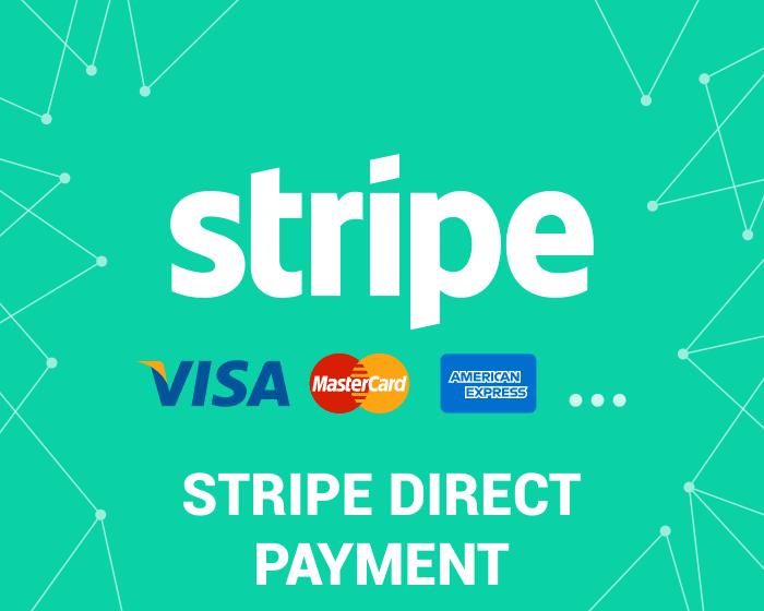 스트라이프, stripe direct payment credit card