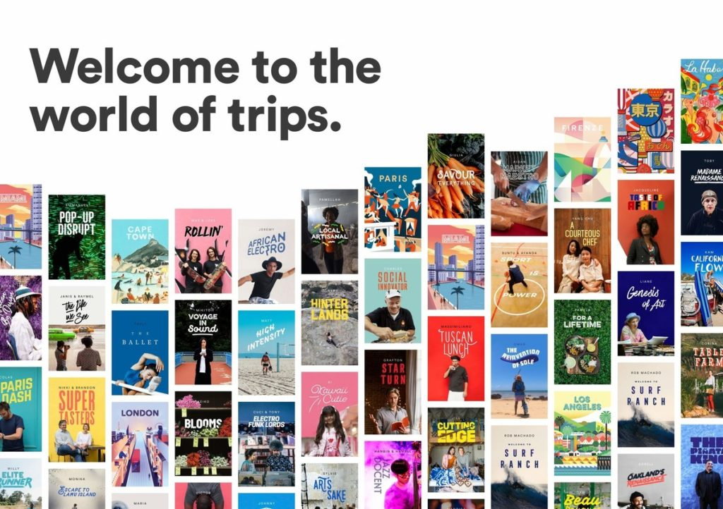 Airbnb announces the launch of Trips- a people-powered platform designed to make travel both easy and magical. (PRNewsFoto/Airbnb)