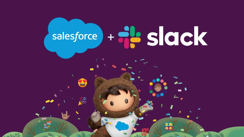 세일즈포스와 슬랙 합병, Image from Salesforce