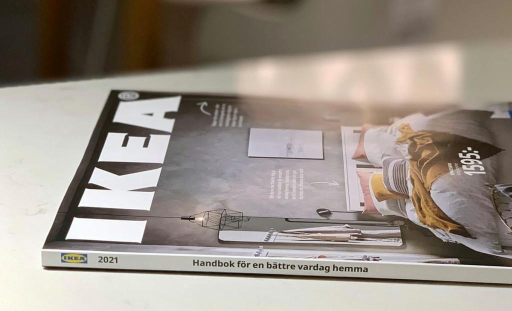 이케아 카달로그, 마지막 카달로그가 된 2021년 카달로그 모습