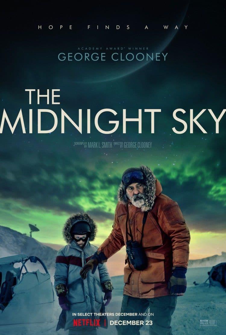 넷플릭스 오리지널 영화 The Midnight SKY 포스터
