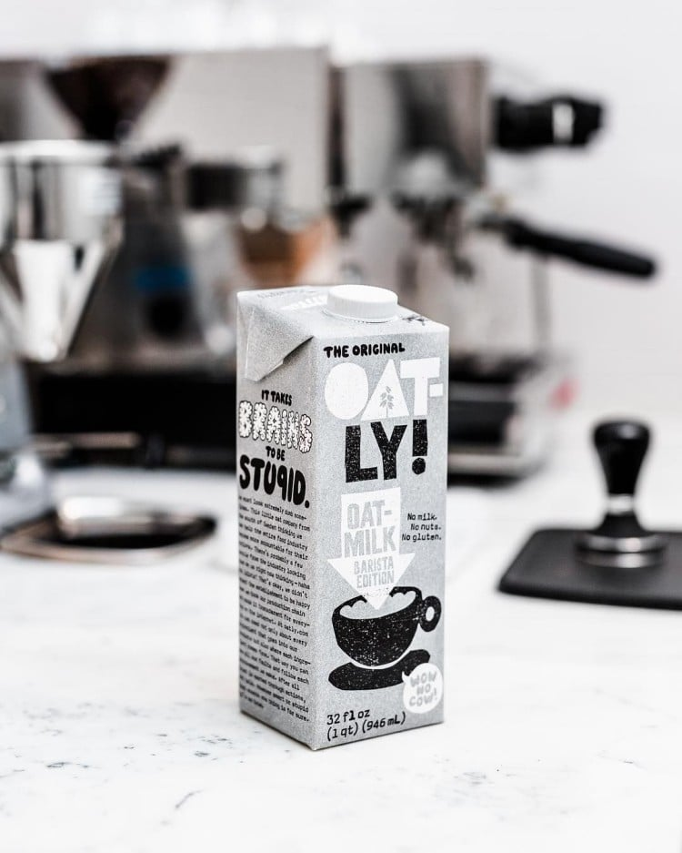 오틀리 바리스타 오디션, Oatly barista edition Image from Oatly
