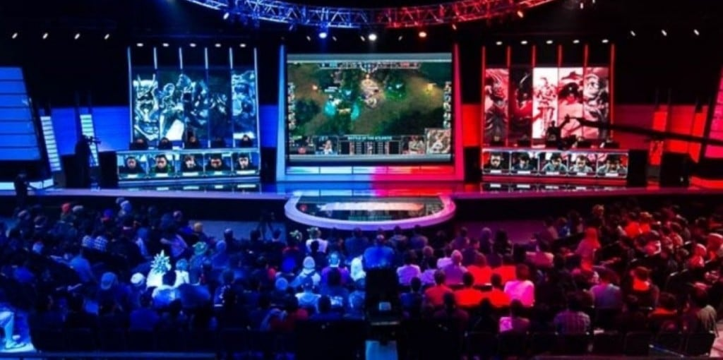 이스포츠 모습, esports, Image from RIOT GAMES