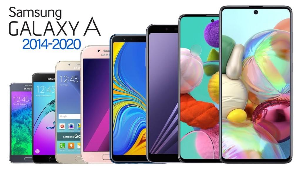 삼성 갤럭시 A 시리즈, Samsung Galaxy A