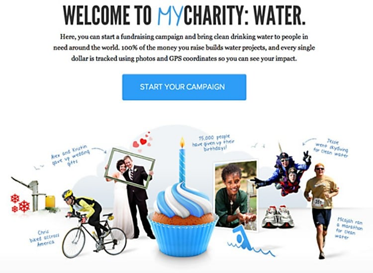 welcome to my charity water