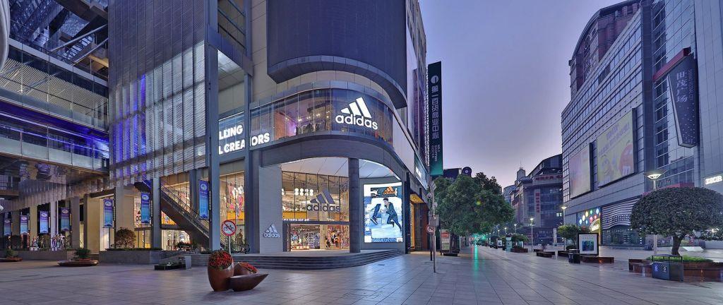 아디다스 상하이 플레그쉽 매장, adidas brand flagship store in shanghai,Image from adidas