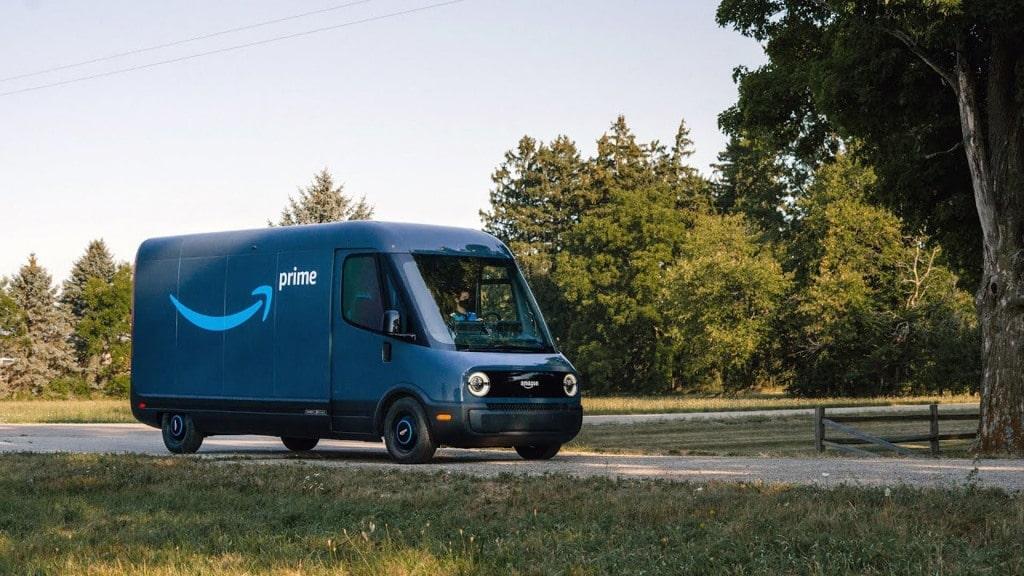 아마존 전기 배달 밴 리비안(Rivian), amazon electric delivery van designed by rivian