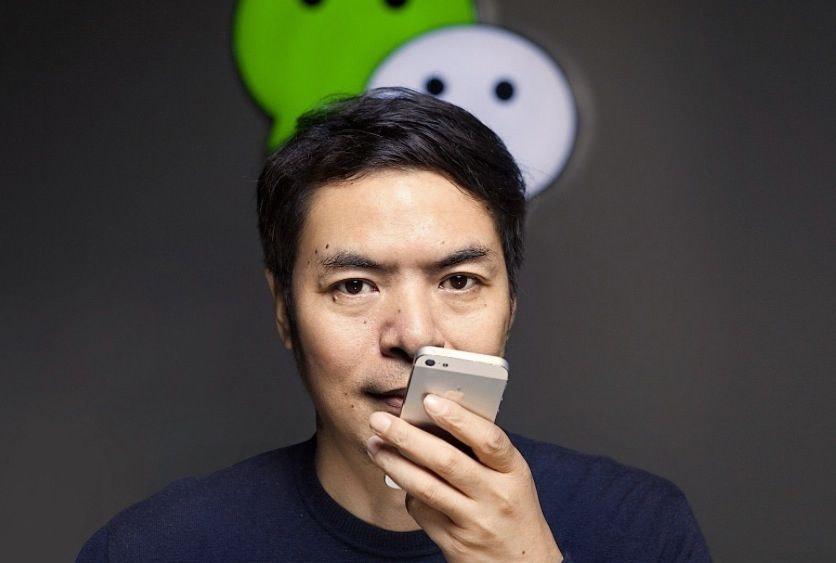 위챗을 개발한 Allen Zhang (张小龙, Zhang Xiaolong), Image from Zhihu