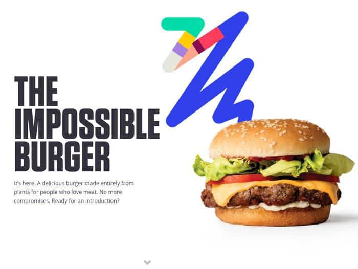 임파서블 버거 광고, Impossible burger