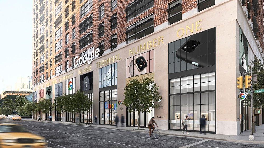 오는 여름 뉴욕에 오픈되는 구글 오프라인 매장 예상 이미지, Image from Google