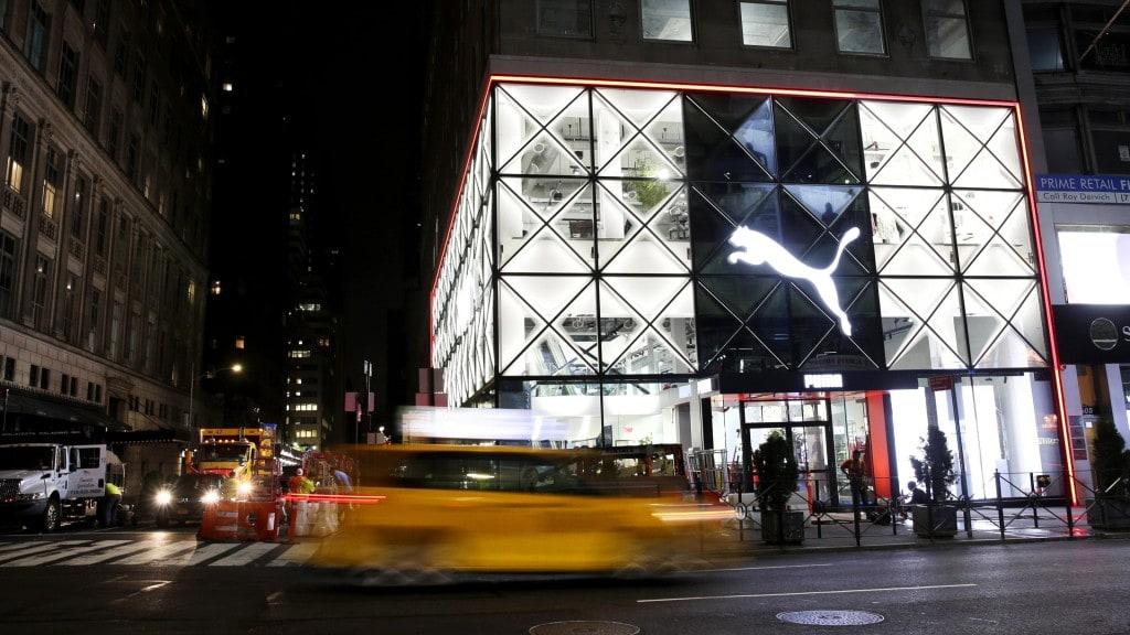 체험 공간으로 적극 활용중인 퓨마 뉴욕 플래그쉽 매장, PUMA 5th Ave 3, Image from QZ