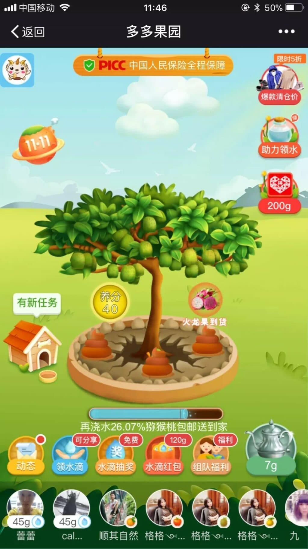 판둬둬 게임, 多多果園,Duo duo Orchard