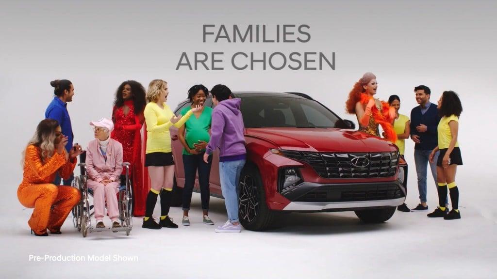 현대차 LGBTQ 마케팅, 젠더 다양성 강조 광고, Chosen Family, 가족은 선택할 수 있어요