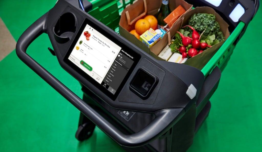 아마존 대시 카트(Amazon Dash Cart), Image from Amazon
