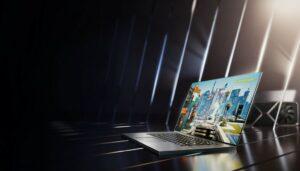 엔비디아 그래픽 카드가 장착된 노트북, geforce rtx 30 series, Image from NVIDIA