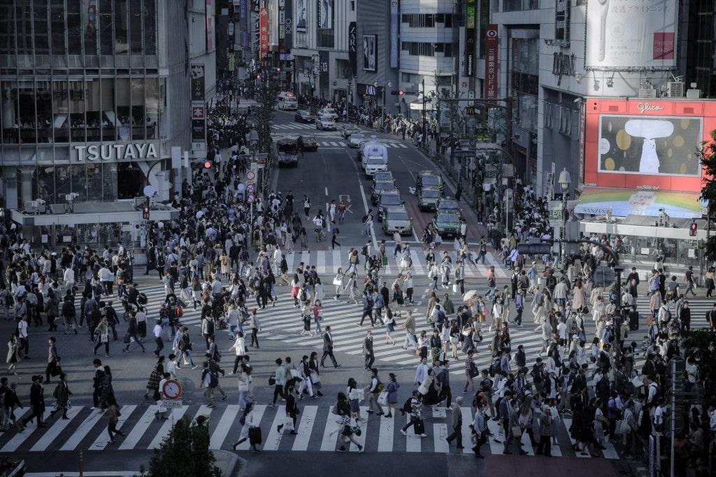 일본 시부야 거리 풍경, japan shibuya stree, Photo by meguraw645