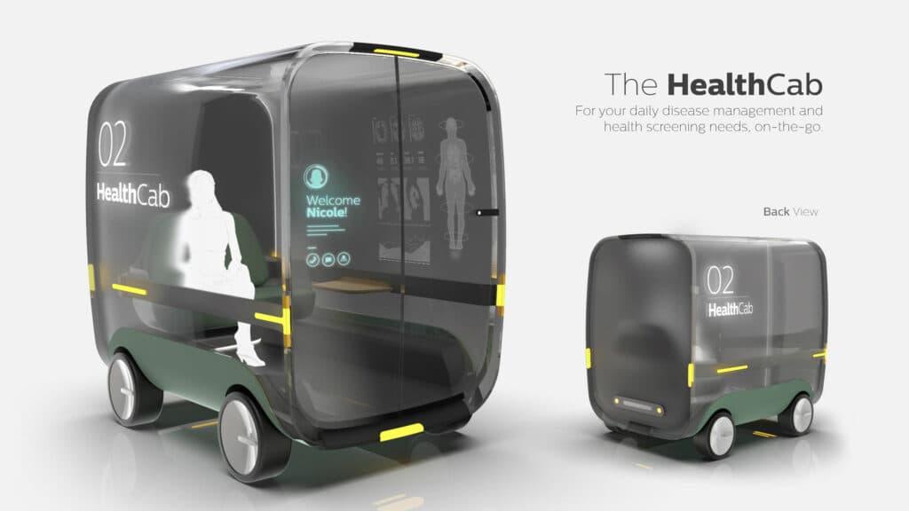 iIF 디자인 어워드 2021 수상작, 핼쓰캡, The healthCab, a brief speculation of autonomous healthcare, iF design awards