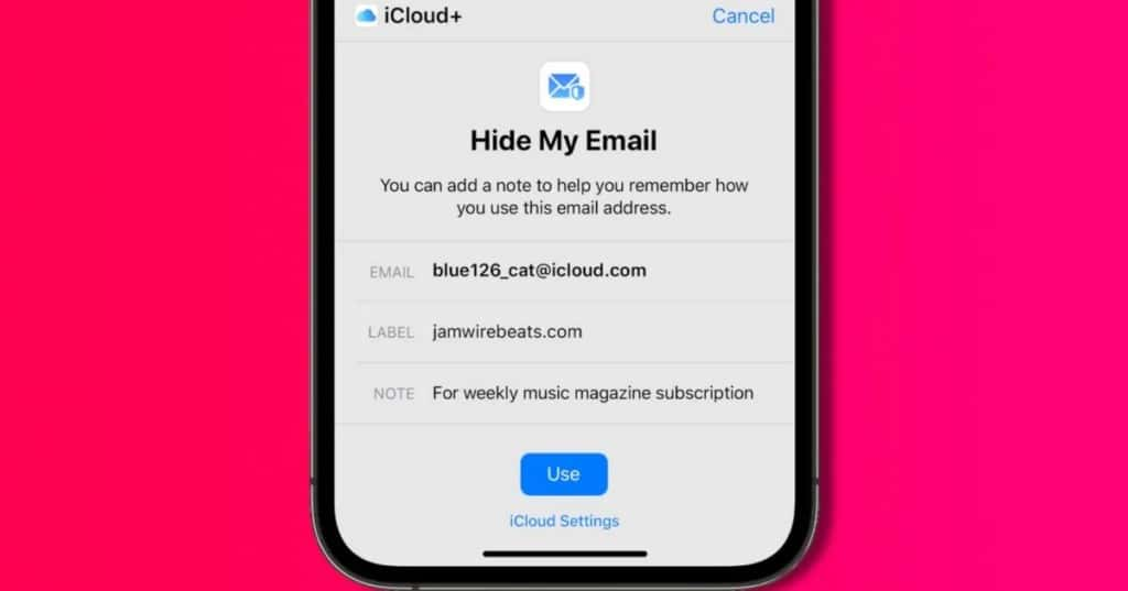 iOS 15 hide my email-1200x630