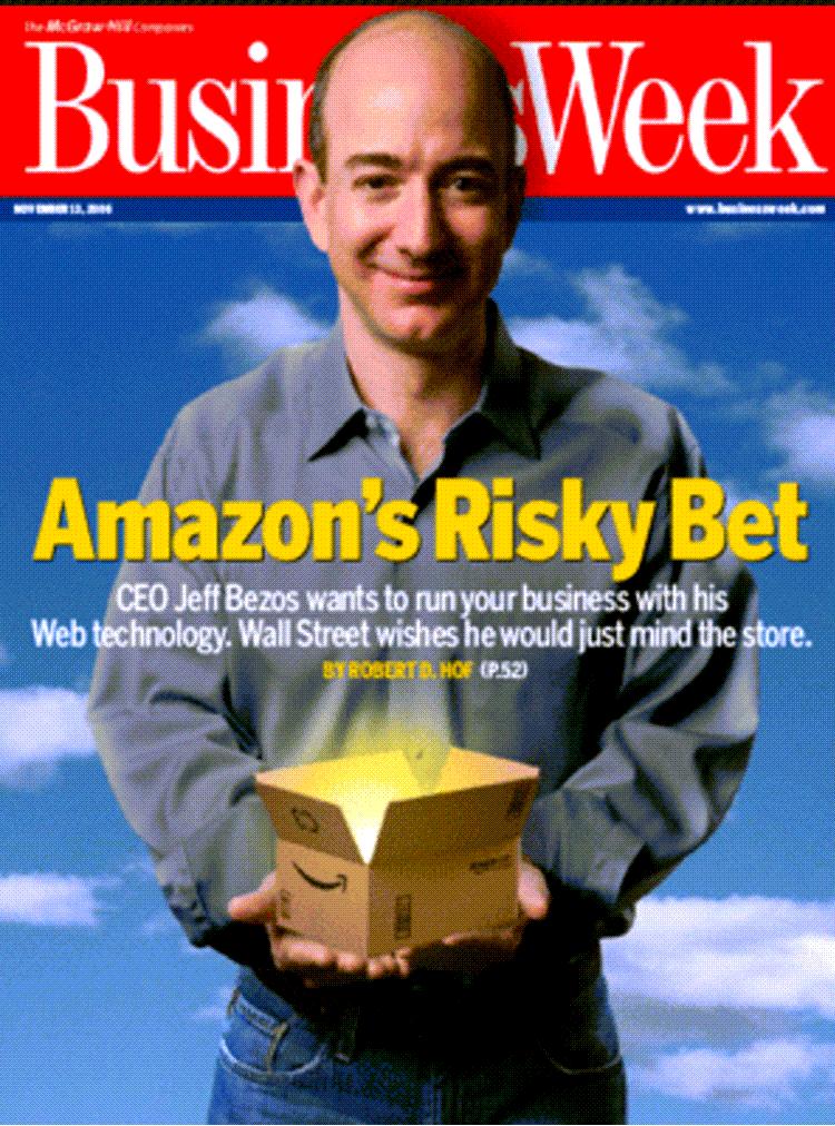 아마존 웹 서비스 추진에 대한 2006년 당시 언론 평가, Business week Amazon's Risky Bet
