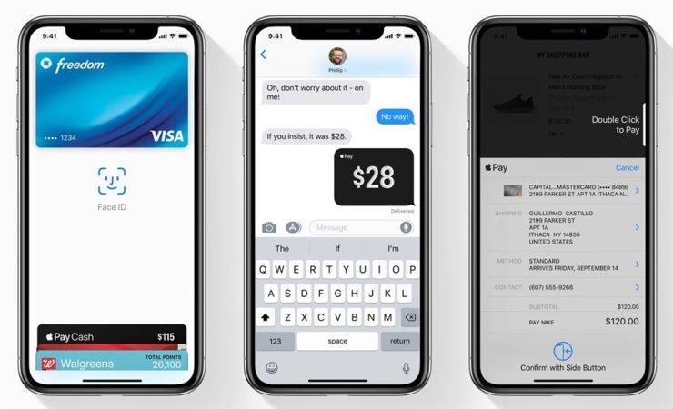 애플페이 사용자 인터페이스, Image from Apple