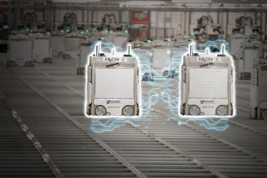 어카도 로봇, 상호 커뮤니케이션이 가능한 트윈로봇, Digital Twin Bot