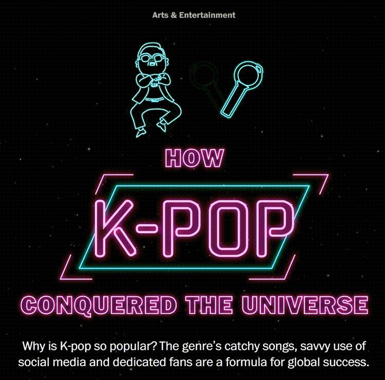 워싱턴포스트 어떻게 케이팝은 세상를 정복했는가 How K-POP conquered the universe