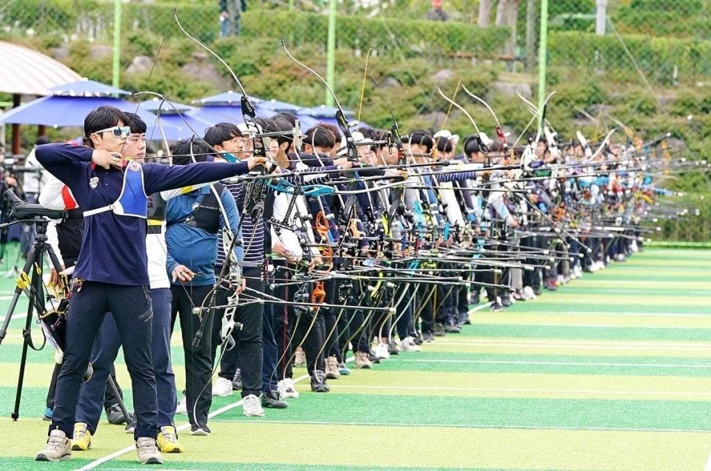 2019년 현대자동차 정몽구배 한국양궁대회 모습, 예선전 모습