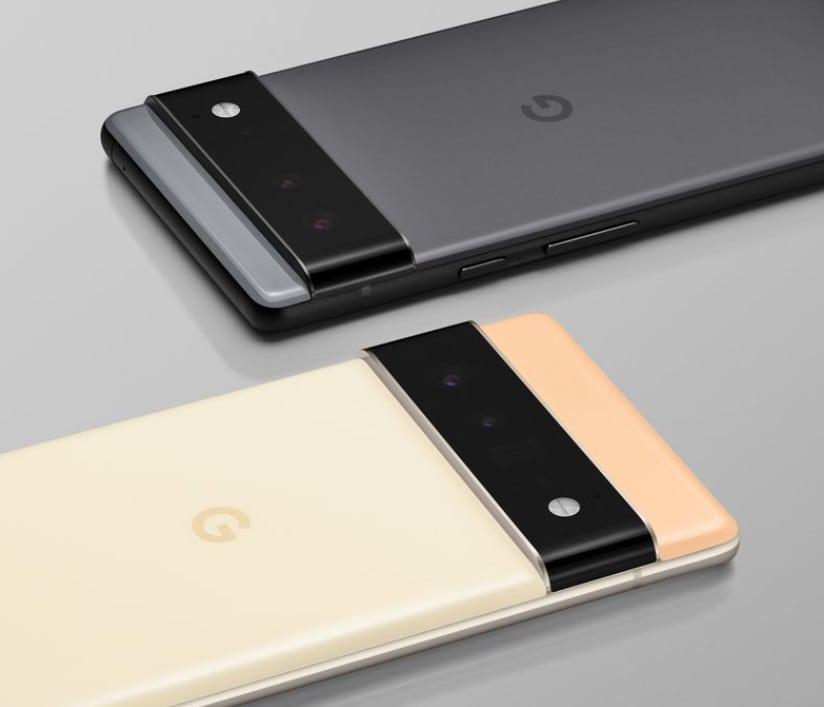 구글 픽셀 6 카메라 바 이미지, Google Pixel 6 Camera Bar, Image from Google