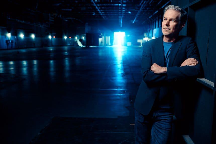 넷플릭스 공동 창업자이자 CEO인 리드 헤이스팅스(Reed Hastings), Photo by AUSTIN HARGRAVE, Netflix