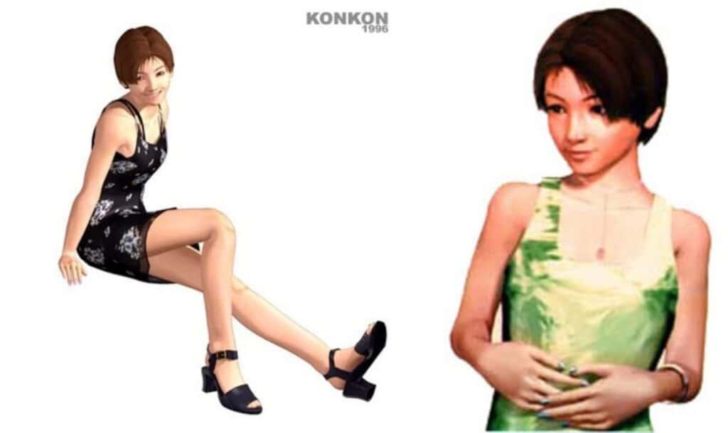 세계 최초 사이버 가수는  다테 쿄코(伊達杏子, だて きょうこ)-side