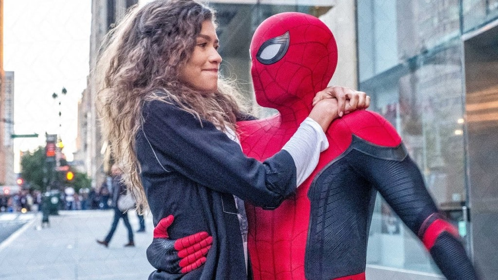 소니 픽처스 영롸 스파이더맨과 여자친구, Spider-Man, Far From Home