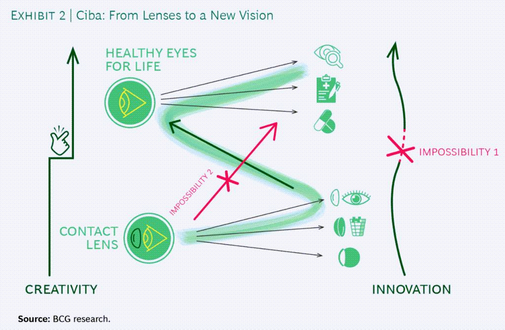 시바 비전(Ciba Vision) 지그재그 사례