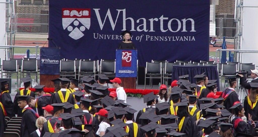 와튼스쿨 졸업식, Wharton graduation, Phoot by Jack Duval via Flicker